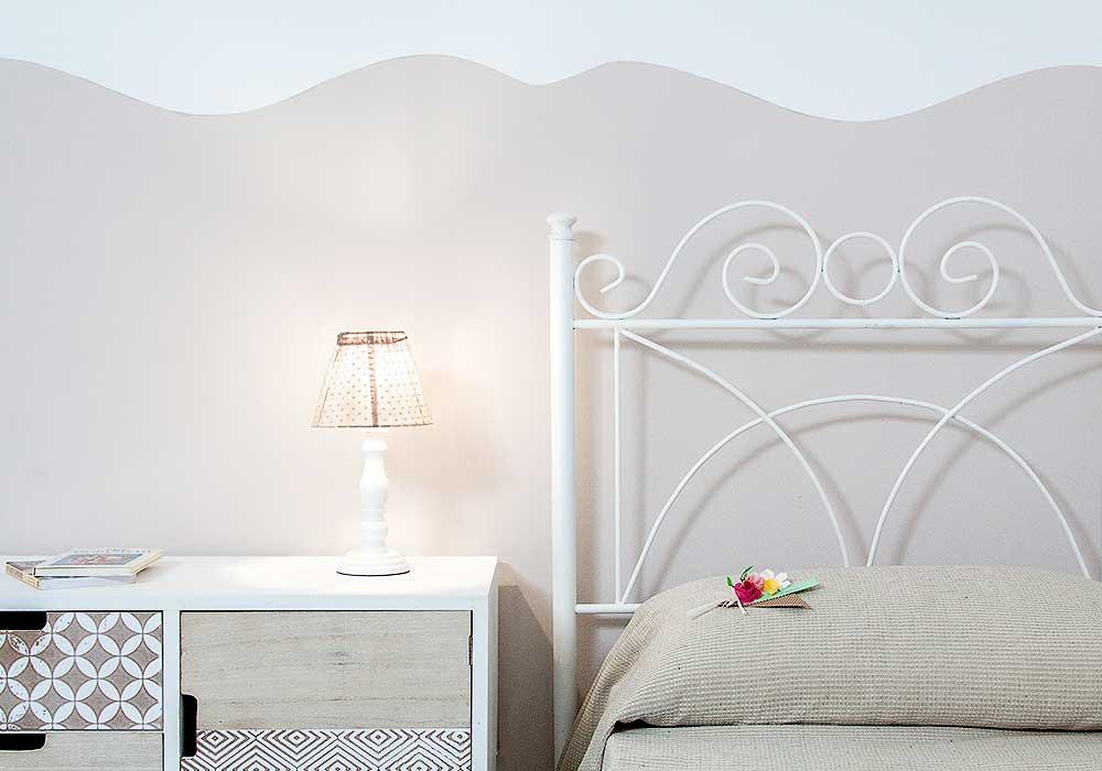 The second bedroom of Appartamento Tirrazza